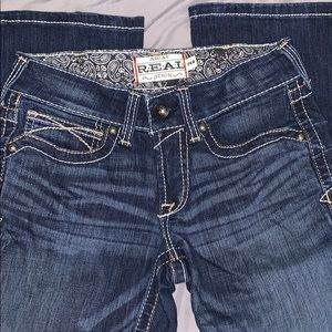 Ariat Mid-Rise Bootcut Jeans